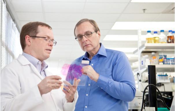 Paull Allen en su instituto de investigación en ciencias del cerebro. / Jordanatvulcan