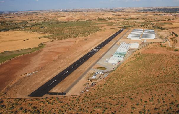 Aeródromo de Casarrubios sobre el que se pretende desarrollar el proyecto. / casarrubios.net