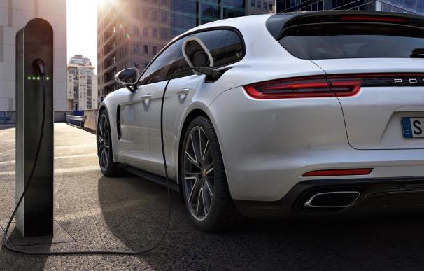 Fotografía del Porsche Panamera híbrido
