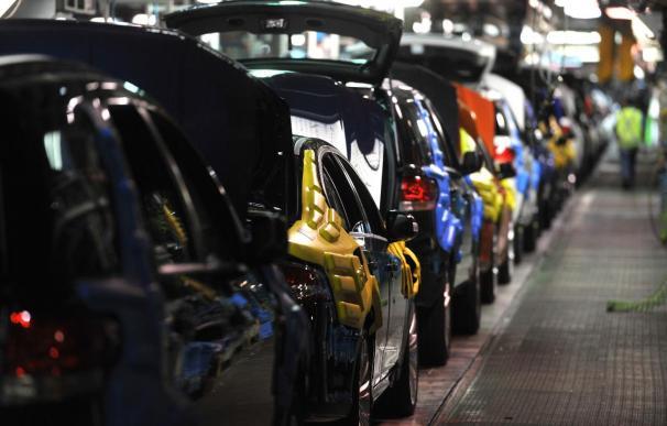 La producción de vehículos crece un 11 % en los ocho primeros meses de 2014