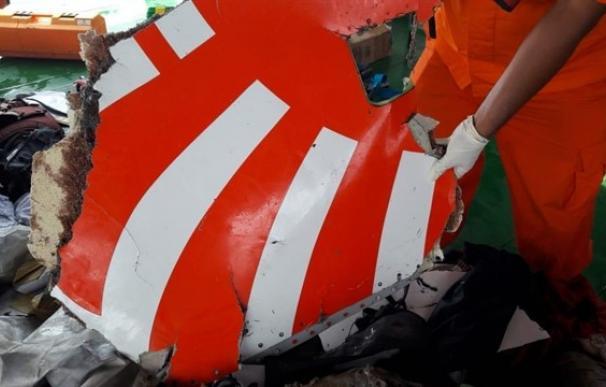 Posibles restos del avión de Lion Air