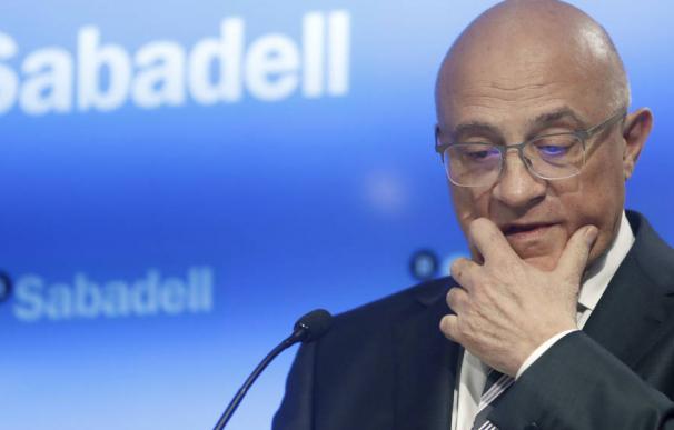 Josep Oliu, presidente del Banco Sabadell / EFE