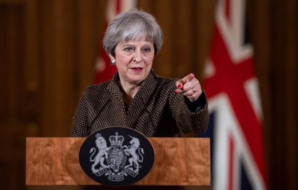 Fotografía Theresa May, primera ministra de Reino Unido