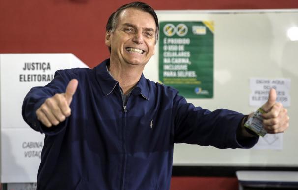 Bolsanora ganó la primera vuelta de las presidenciales en Brasil.