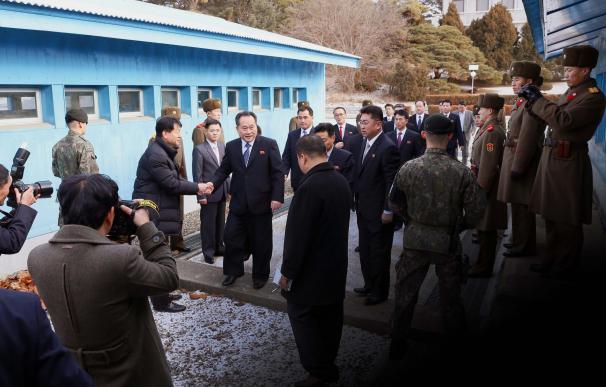 Fotografía de las dos Coreas, Juegos Olímpicos de Invierno