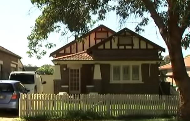 Fotografía de la casa ocupada por Bill Gertos en Australia.