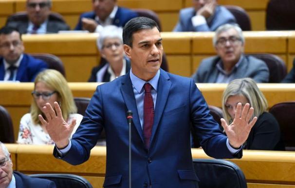 Pedro Sánchez pide calma / EFE