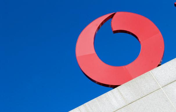 Fotografía logo Vodafone