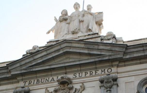 Detalle de la fachada del Tribunal Supremo - EFE