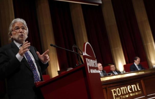Josep Sánchez Llibre, presidente de Foment / EFE