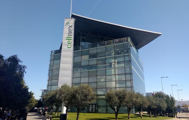 Oficina de Cellnex en la Zona Franca de Barcelona