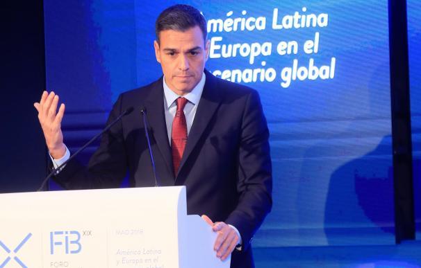 Sánchez en el foro iberoamericano