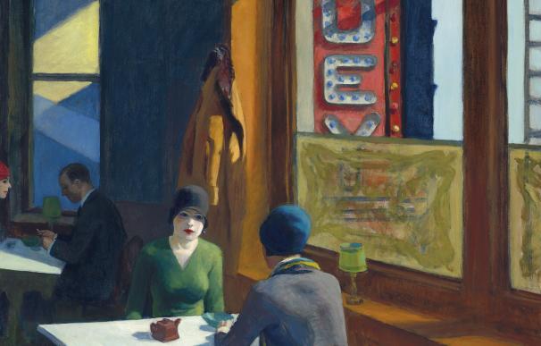 Edward Hopper (1882-1967) 'Chop Suey'