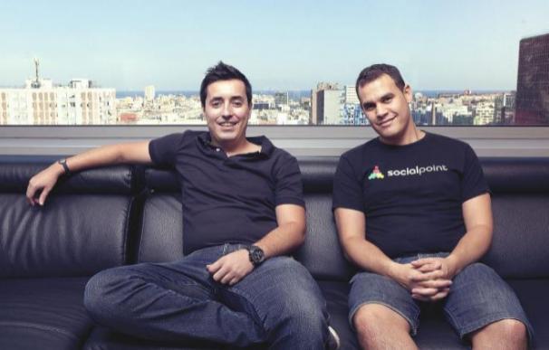Los fundadores de Social Point.