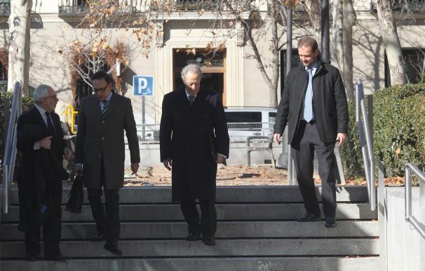 Juan Miguel Villar Mir llega a la Audiencia Nacional para declarar