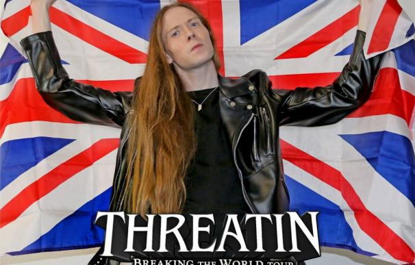 Cartel promocional de la gira de Treathin.