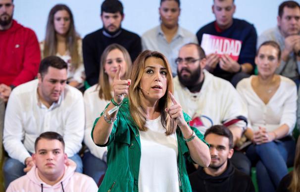 Susana Díaz, candidata socialista a la Junta de Andalucía / EFE