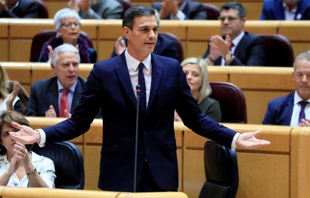 Pedro Sánchez ha pedido la dimisión de Cosidó en el Senado.