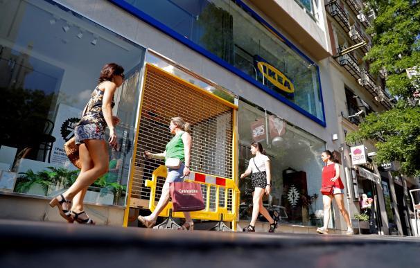 Imagen de la tienda de Ikea en la calle Goya de Madrid.