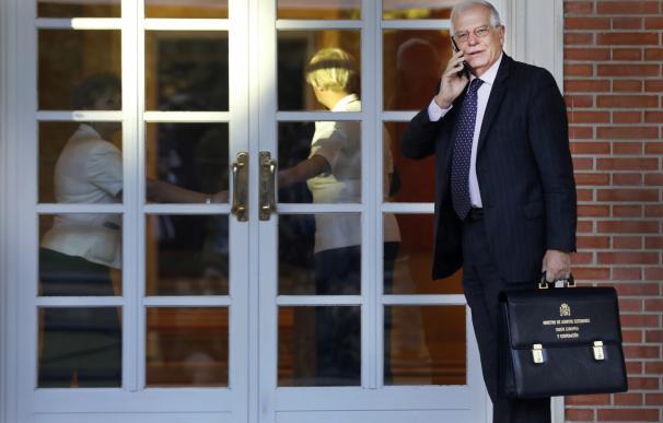 Josep Borrell admite que la CNMV le impuso una sanción