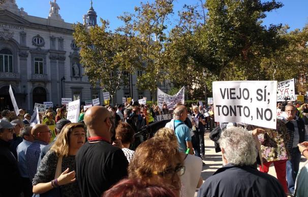 Protesta ante el Supremo