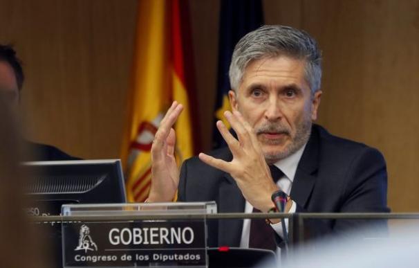 El titular de Interior, Fernando Grande-Marlaska. / EFE