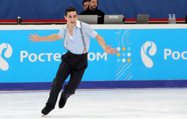 Javier Fernández, campeón del mundo y de Europa de patinaje artístico