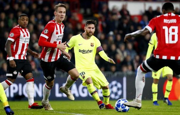 Fotografía PSV Eindhoven - FC Barcelona, Champions League