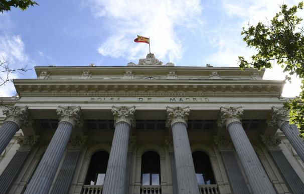 Fachada de la Bolsa de Madrid, cotización, mercados, Ibex, empresas cotizadas