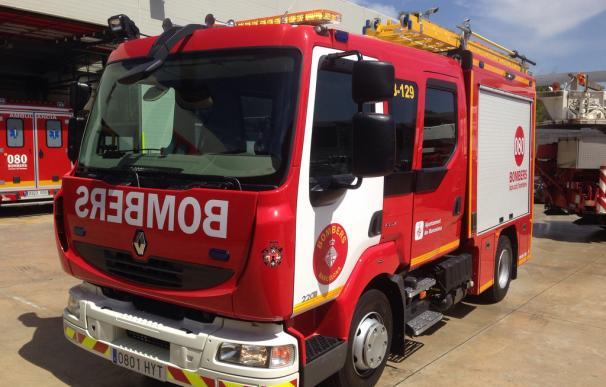 Siete dotaciones de bomberos se trasladaron para sofocar el incendio