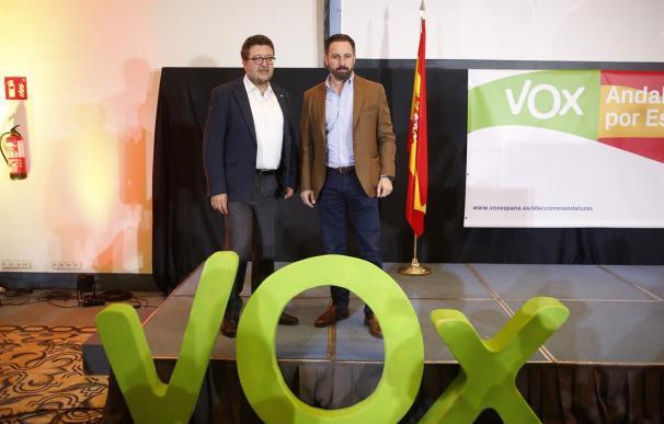 """VOX garantiza que """"nunca será obstáculo"""" para una mayoría alternativa."""
