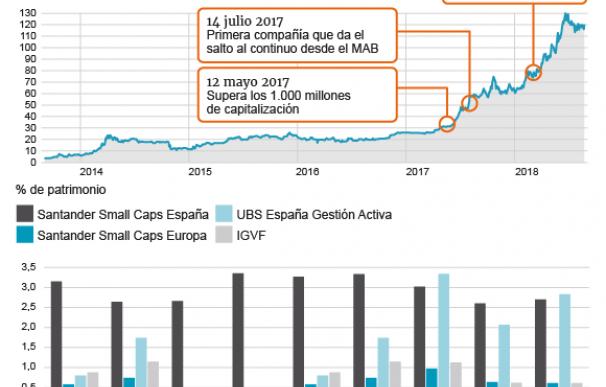 Los fondos de inversión más presentes en MásMóvil
