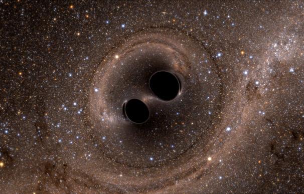La colisión de los agujeros negros dio como resultado el más grande jamás conocido