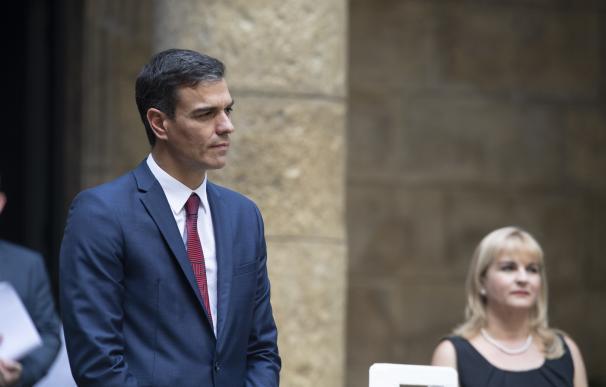 """Pedro Sánchez en el acto de cesión temporal de la """"Silla de Maceo"""" en Cuba"""