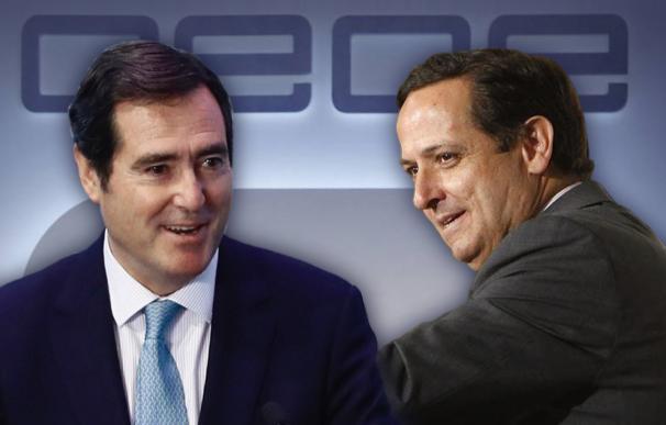 Antonio Garamendi y Juan Pablo Lázaro