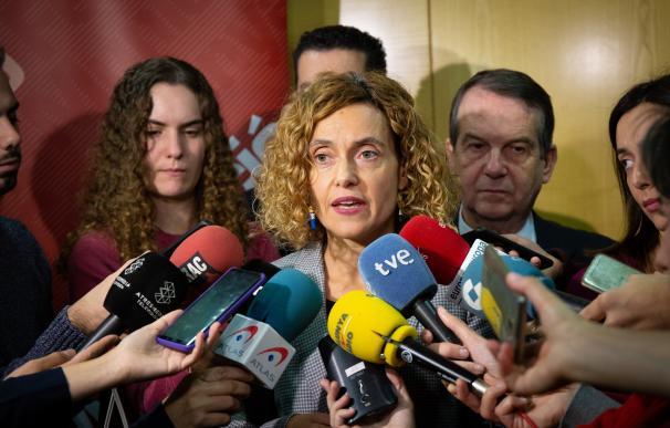 La ministra de Política Territorial y Función Pública, Meritxell Batet, acude a