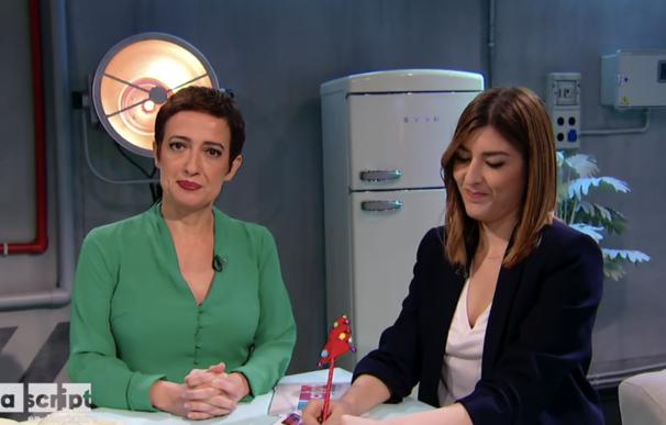 María Guerra y Pepa Blanes en La Script