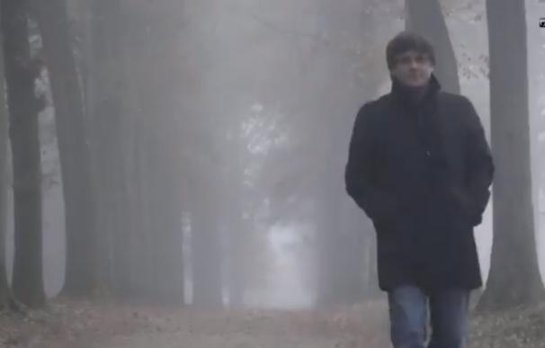 Carles Puigdemont en un fotograma del vídeo promocional de la entrevista (TV3)