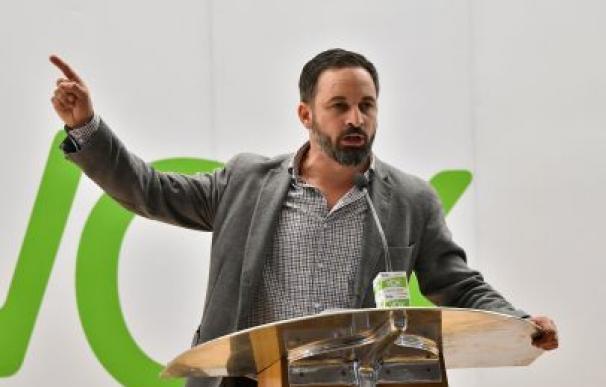 El presidente de VOX, Santiago Abascal / EFE