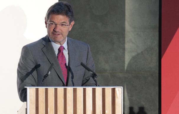 El exministro de Justicia Rafael Catalá.