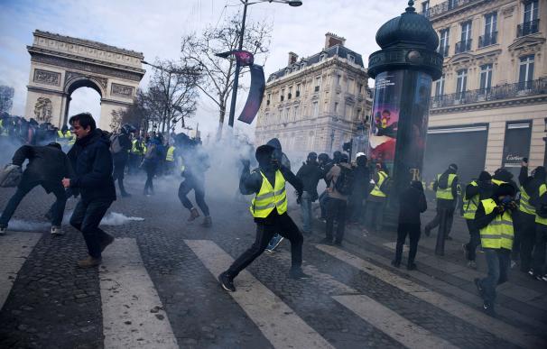 Protestas chalecos amarillos