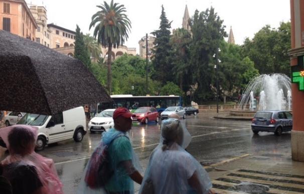 Baleares y Cataluña, en riesgo amarillo por lluvias y tormentas este lunes