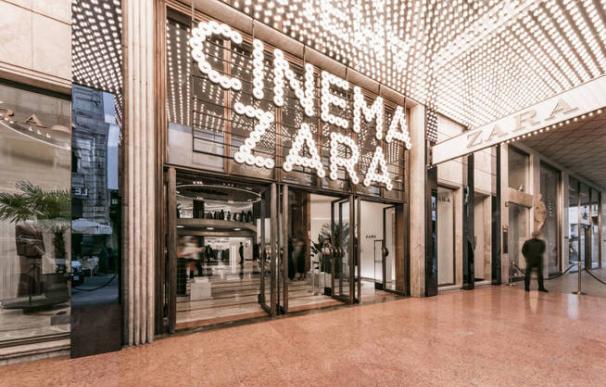 Entrada del Zara de Milán