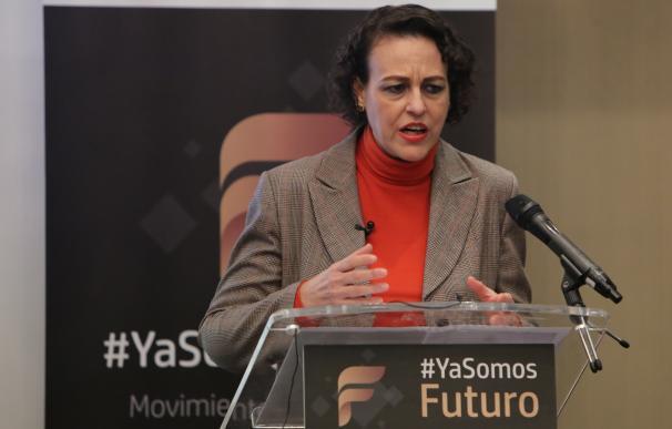 """La ministra de Trabajo, Magdalena Valerio, interviene en el encuentro """"Ya somos"""