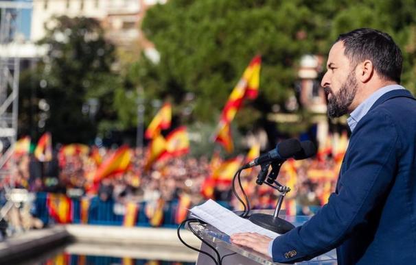 El presidente de VOX España, Santiago Abascal