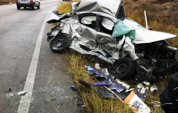 Un muerto y dos heridos en los tres accidentes de tráfico ocurridos durante el fin de semana