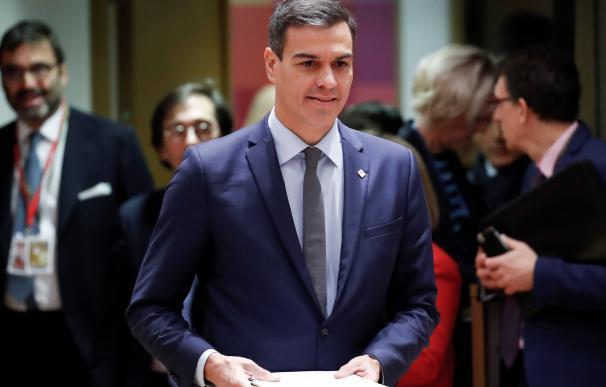 Sánchez asegura que hablará siempre dentro de la Constitución.