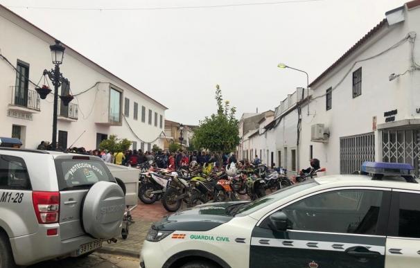 Búsqueda de joven en El Campillo (Huelva)