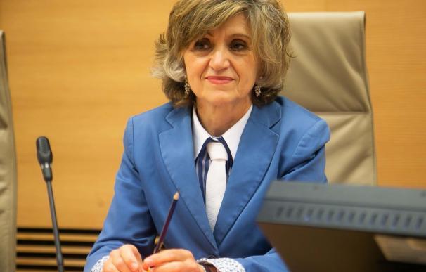 Marisa Carcedo, ministra de Sanidad