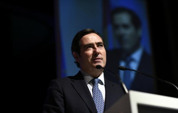 Antonio Garamendi, presidente la CEOE (Foto de archivo)